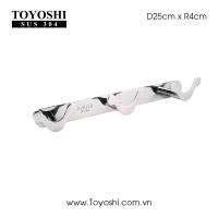 Móc MB3 Chiều dài 25cm, 3 móc 100% inox 304